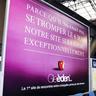 Gleeden.com joue labstinence contre labstention - Gleeden
